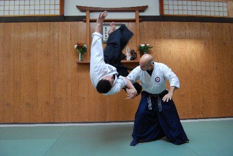 Martial Art Seibukan Jujutsu Jon and Kancho