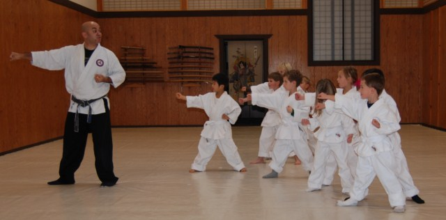 Seibukan Jujutsu Martial Art children