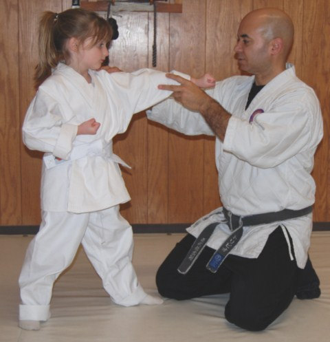 Seibukan Jujutsu Martial Art kancho-helping-child