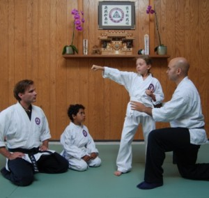 Seibukan Jujutsu Martial Art kancho-juniors