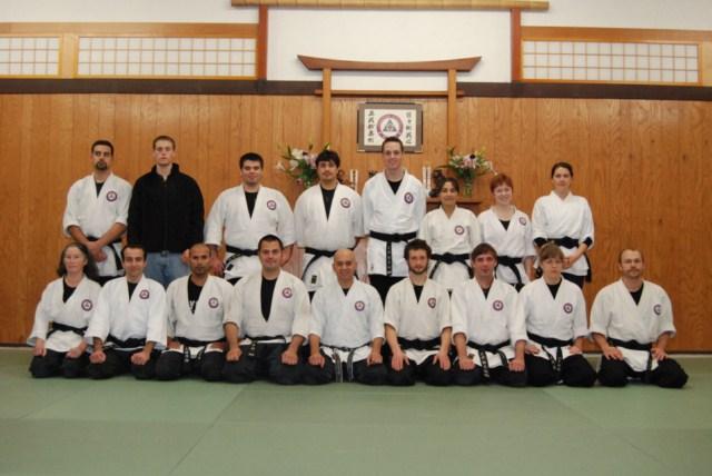 Seibukan Jujutsu Martial Art Uchideshi